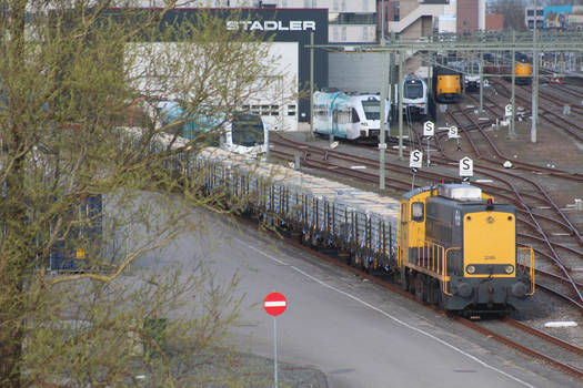 SHD 2205 with noise barrier
