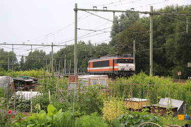 RFO 1828 with empty crafter train