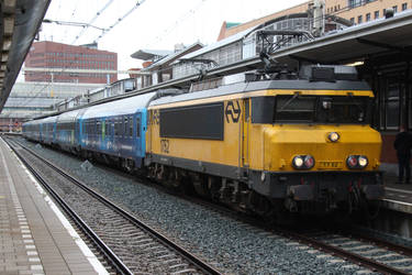 NS 1752 with Connecting Europe Express
