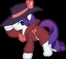 Vector 033 - Detective Rarity by MPnoir