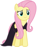 Vector 038 - Fluttershy in Nightmare Night Dress
