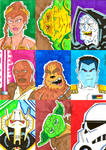 Star Wars Sketch Cards 1