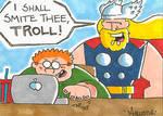 MOD Thor Sketch Card