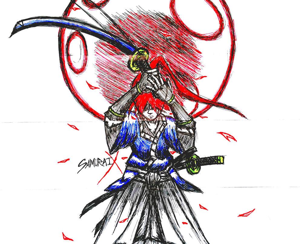 Samurai X Battousai by 00akurei