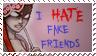 I hate fake friends stamp by hmc03