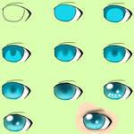 SAI Beginner EyeColor Tutorial