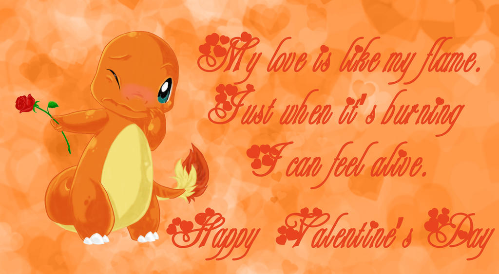 Valentine's Charmander by TheGui