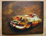 Rusty Car canvas