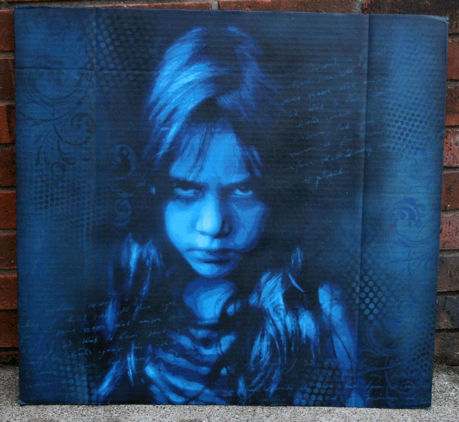 Blue Hu by Tony231