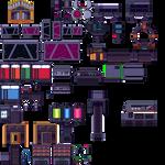 Sci-Fi Tileset B for RPG Maker MV by Xenophero-M
