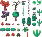 Nature Sprites by Xenophero-M