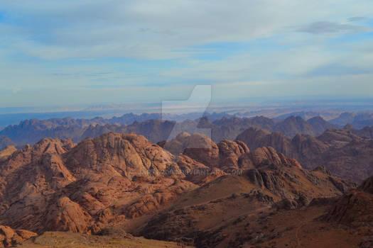 Saint Catherine Mountain, Egypt