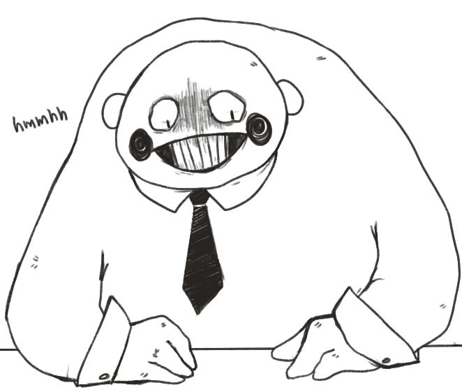 enoch doodle by pyokos