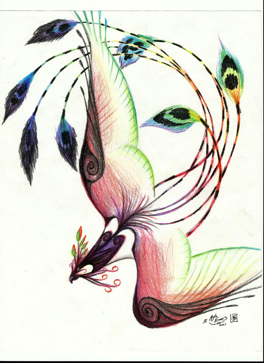 abstract bird 8 by aiko shiri on deviantart