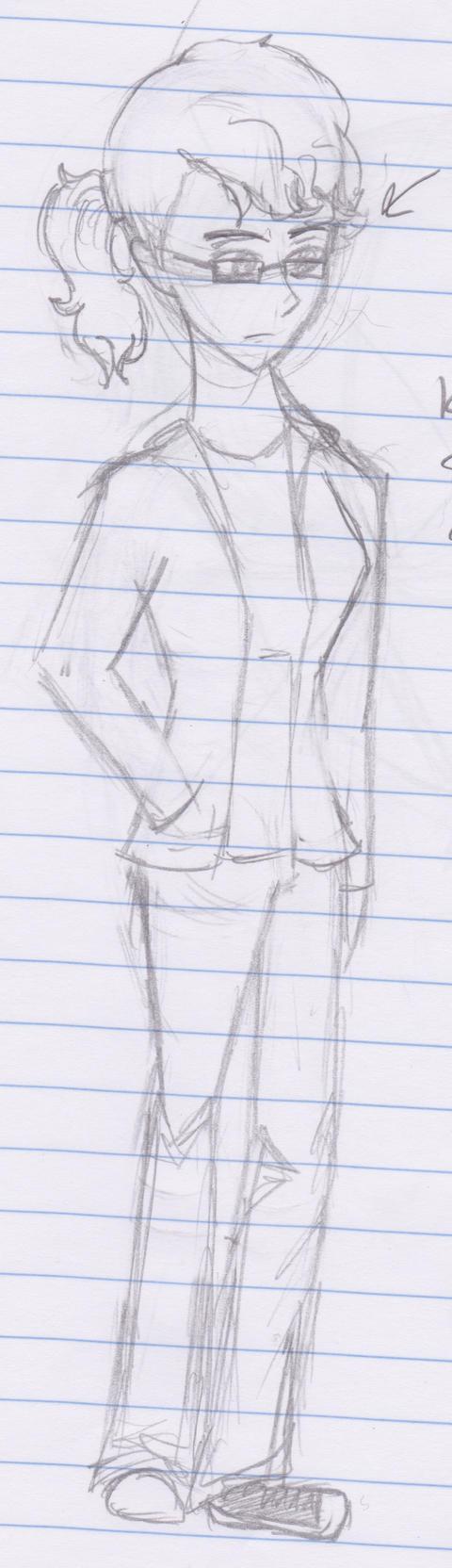 I drew myself I guess by Robinstar99