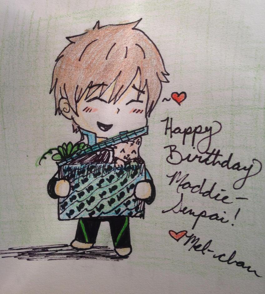 Happy Birthday, Senpai! by Robinstar99