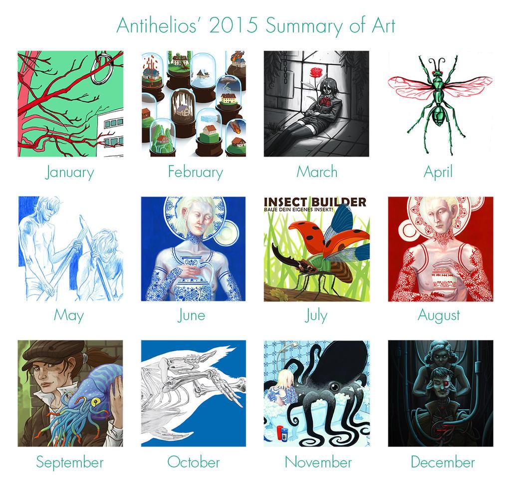 Summary of Art 2015 by Antihelios