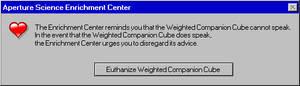 Portal Error Message 5