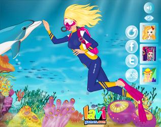 Barbie Scuba Diving by Lavigames
