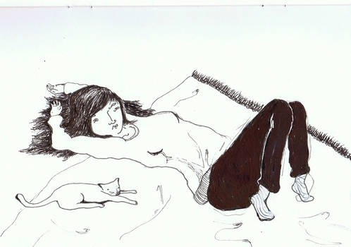 lie down