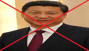 Anti Xi Jinping Stamp