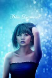 Blue Diamond by unconnectedbrain