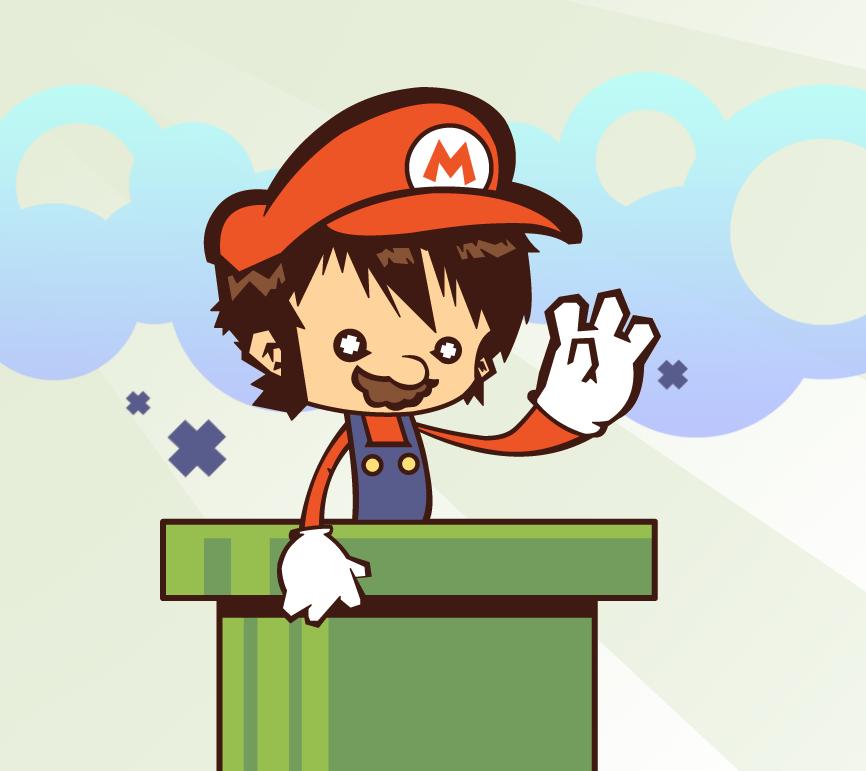 Mario by phreezer