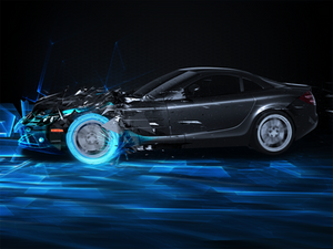 Mercedes SLK Digitized