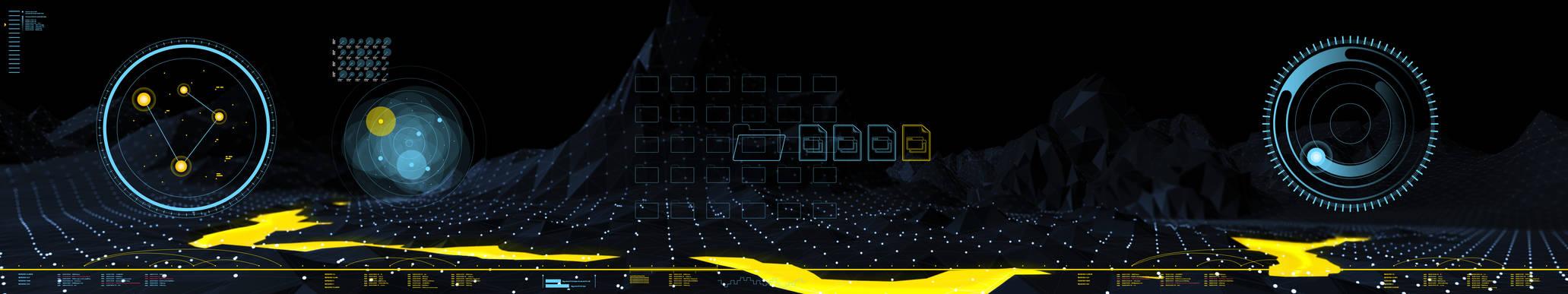 Three Screen UI