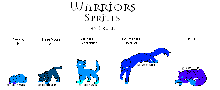 Warrior Cat Sprites By How To Draw A Anime