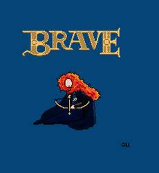 Pixel Brave Bigger by Giliorin