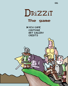 Drizzit the game by Giliorin