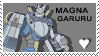 Magnagarurumon Stamp 4 by GoldenEmotions