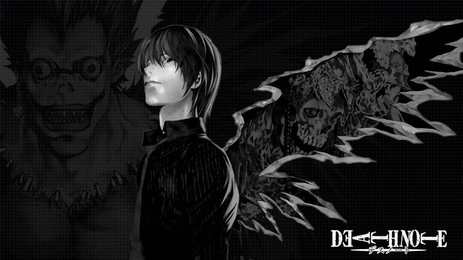Death Note Shounen Ai L X Light  Death Note Yaoi