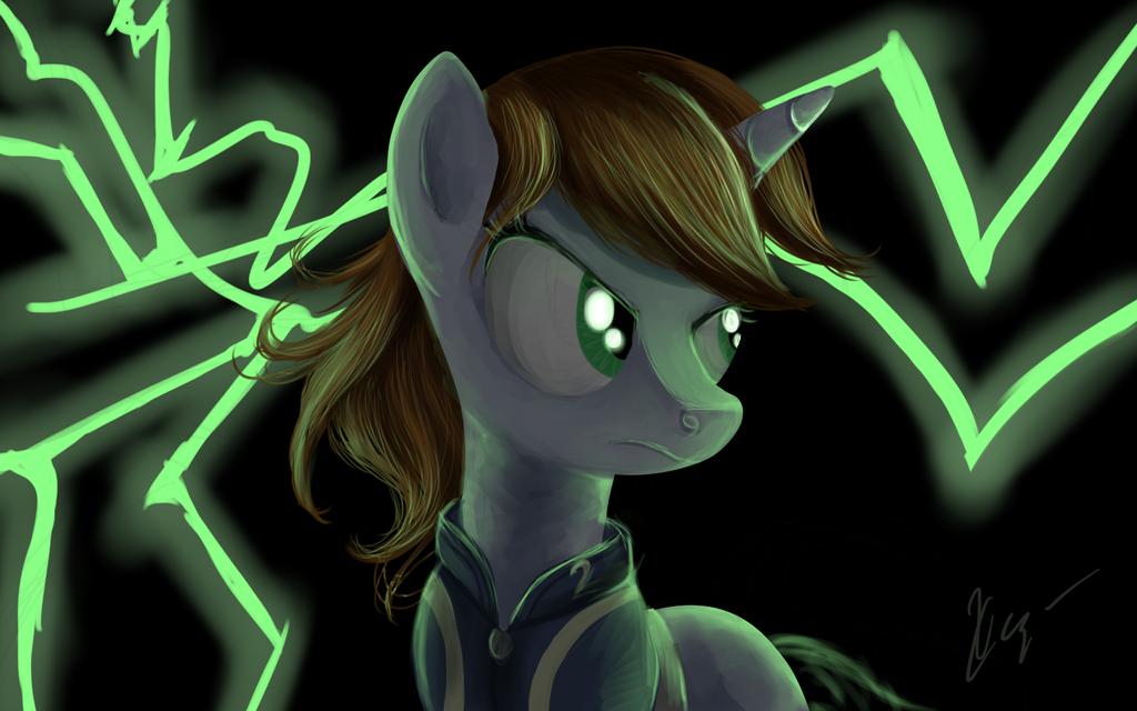 Fallout Equestria - Lil'Pip by SakuraWolfer