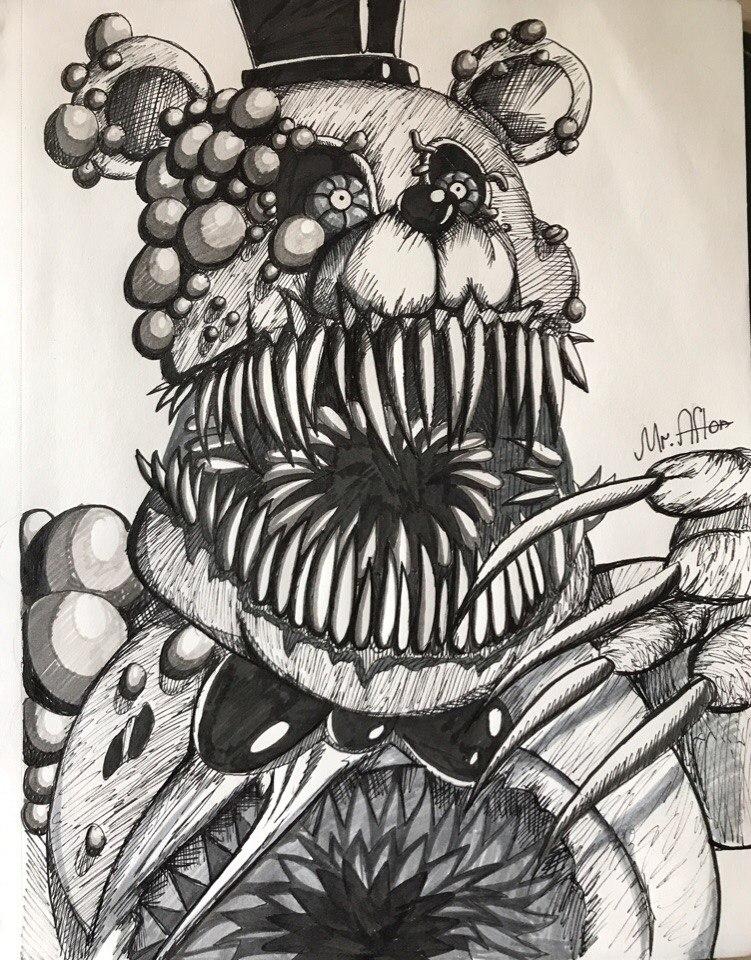 Twisted Freddy by SakuraWolfer on DeviantArt