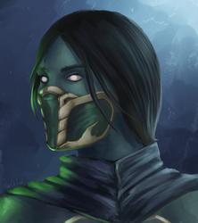 Jade potrait by WourDeLuck