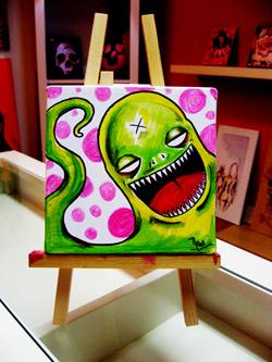 Funny Alien by NoRespectGrafix