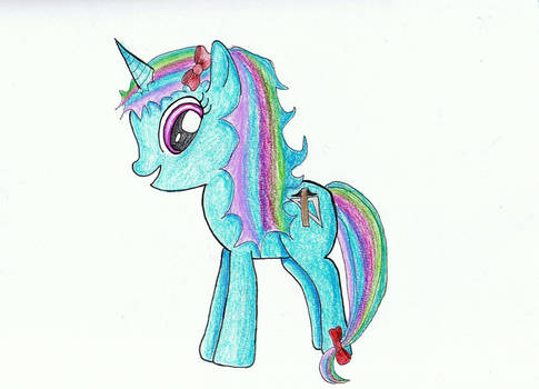 Drafting Pony
