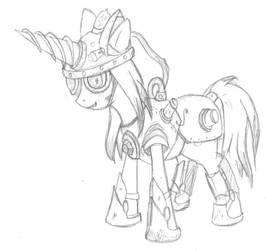 Digger pony by TraviusTheTrotting