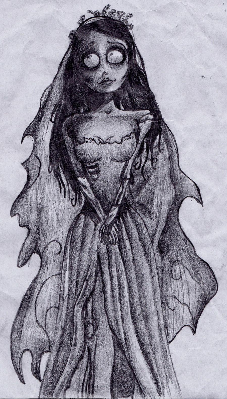 Corpse Bride by HelloKitttyyy on DeviantArt