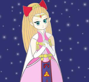Princess Zelda from Four Swords