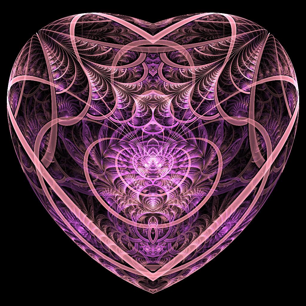 Hearth shaped box by kr0mat1k