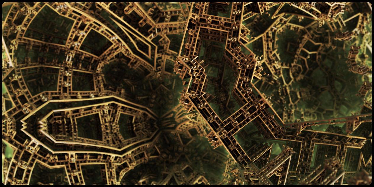 Eiffel's brain by kr0mat1k