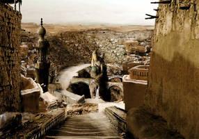 Desert fantasy city