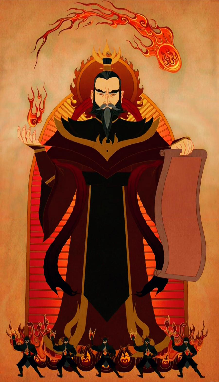 Fire Lord Sozin by messengerpigeon
