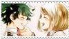 Midoriya Izuku x Urakara Ochako stamp by Soni8888