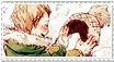 Mashirao Ojiro x Hagakure Tooru stamp by Soni8888