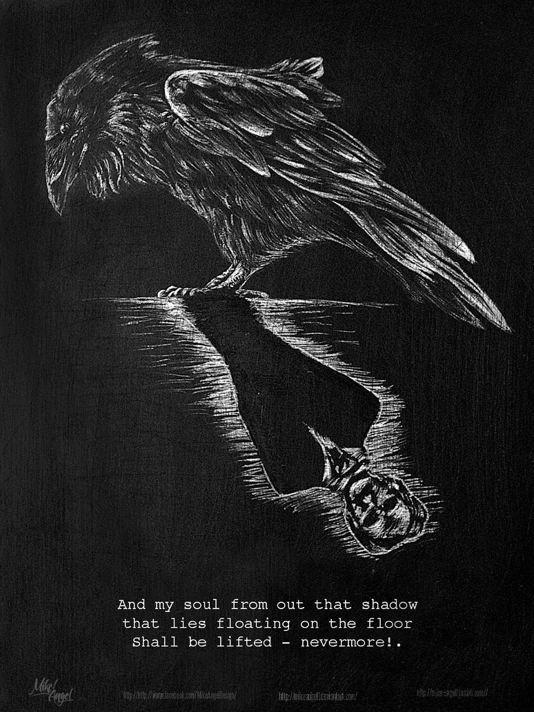 The Raven - Edgar Allan Poe by MIKEANGEL1 on DeviantArt