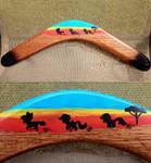 Wood Boomerang - Cutie Mark Crusaders